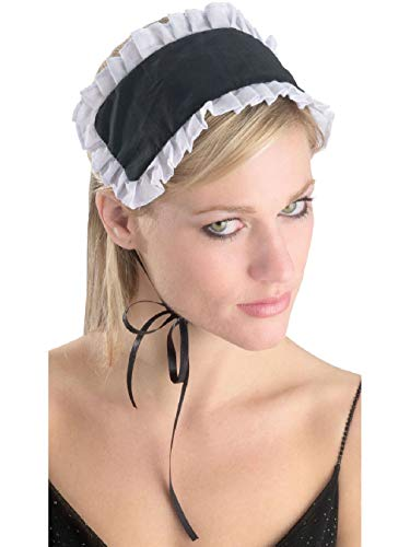 French Maid Headpiece Hat Costume Accessory ()