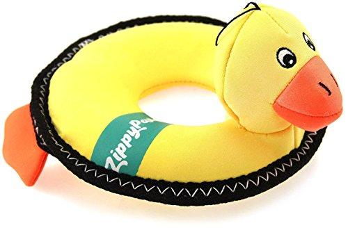 Dog Toy Water (ZippyPaws ZP405 Floaterz Duck Squeak Toy)