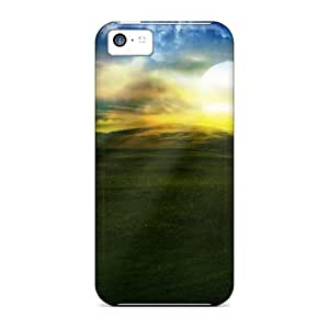 Defender Case With Nice Appearance (spring Bliss) For Iphone 5c