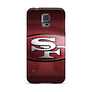 Scratch Protection Hard Phone Cases For Samsung Galaxy S5 With Provide Private Custom Nice San Francisco 49ers Pattern ErleneRobinson
