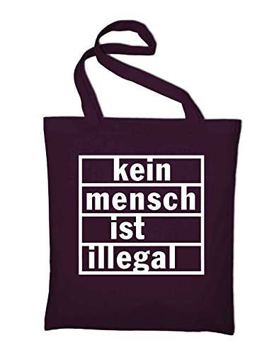 And Red In Jute Bag Illegal Bordeaux Ist Kein Cotton Tasche Mensch green Fabric Bag Green Styletex23jtillegal4 Zt8xpxAq