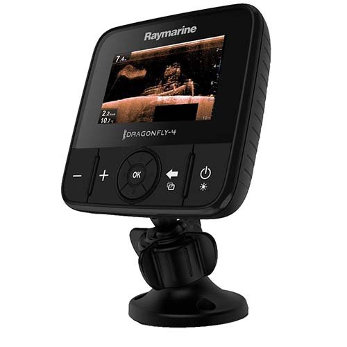 Raymarine E70291 4 Dv 4 in. Down Vision Sonar With Tr