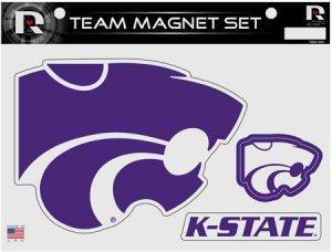 NCAA Kansas State Wildcats NCAA Team Magnet Sheet, Purple, 11