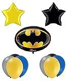 Batman Birthday Party Balloon Supplies