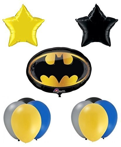 Batman Birthday Party Balloon Supplies -