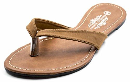 Charles Alber N1124-1 Basic Patent PU Short Vamp Sandals in Cognac PU Size: - London Philip Lim