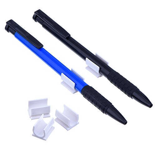 Outus Pen Holder Clip Adhesive 2 Sizes For Pen Paint Brush