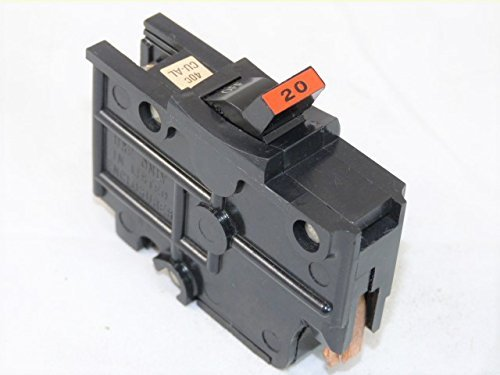 NA20 FEDERAL PACIFIC FPE 20 AMP STAB-LOK 1 POLE BREAKER THICK SERIES 20A 1P (Federal Pacific Electric Circuit Breaker)