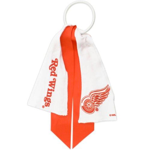 littlearth-nhl-detroit-red-wings-ponytail-holder