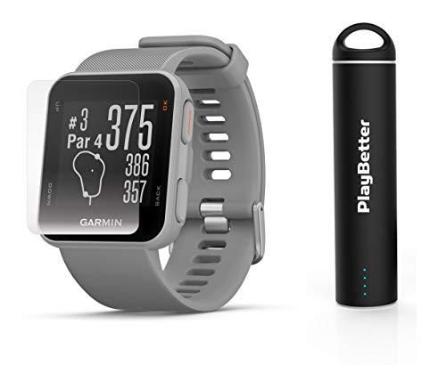 Garmin Approach S10  Golf GPS Watch Power Bundle | Includes