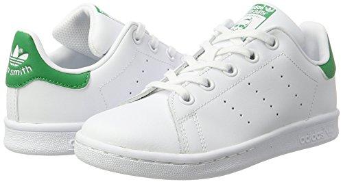 C Blanc Stan green Adidas Mixte footwear Smith Enfant White footwear Basses Baskets White x0AqxUawE