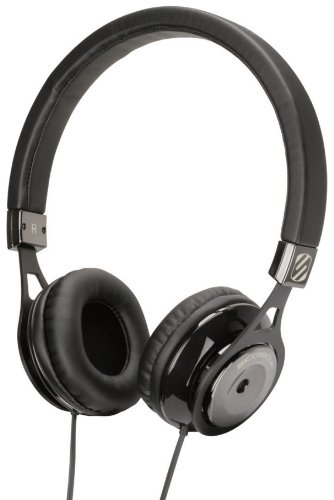 - Scosche rh600bk Realm On - Ear Headphones - Retail Packaging - Black