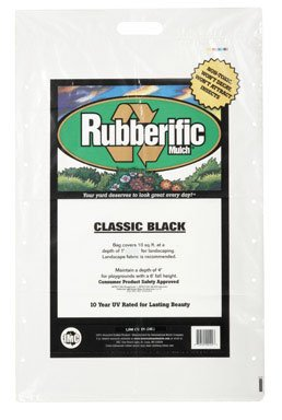 RUBBER MULCH BLACK by RUBBERIFIC MfrPartNo RM8BK (Best Rubber Mulch Reviews)