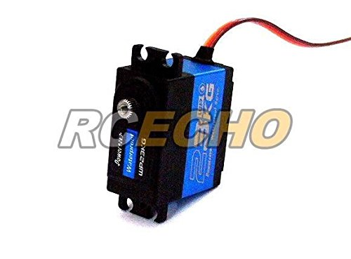 RCECHO® Power HD RC Model WP-23KG Metal Gear R/C Hobby Waterproof Servo SS023 with 174; Full Version Apps Edition