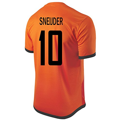 f3915b2e248f durable service Nike Sneijder  10 Holland Home Soccer Jersey ...
