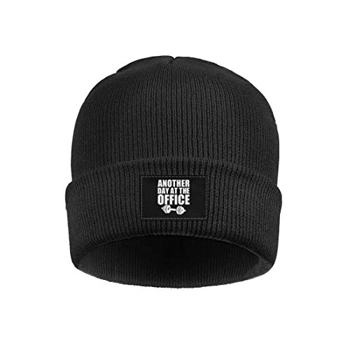 srygjukuu Men and Women Beanie Skull Hats Another Day at The