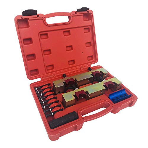 SUNROAD 15pc Engine Camshaft Locking Alignment Timing Tool Kit fit for Mercedes Benz M133 M270 M274