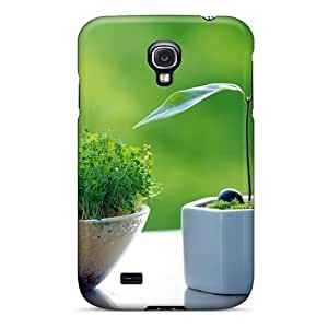 WonderwallOasis Defender PC Hard For Case Samsung Galaxy S4 I9500 Cover - Sprouts Nature