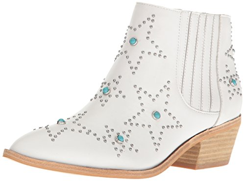 Chinese Laundry Womens Fayme Western Boot White Leather oxlHCD