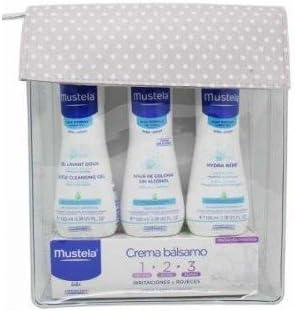 Mustela Neceser Basico Balsamo, Colonia, Crema hidratante y Gel: Amazon.es: Salud y cuidado personal