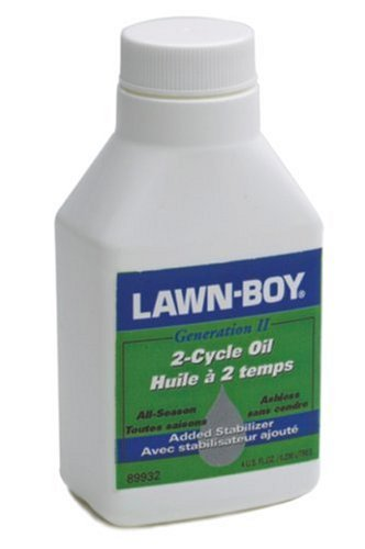 Lawn Boy 89932 4-Ounce 2-Cycle Ashless Engine Oil (Best 2 Stroke Lawn Mower)