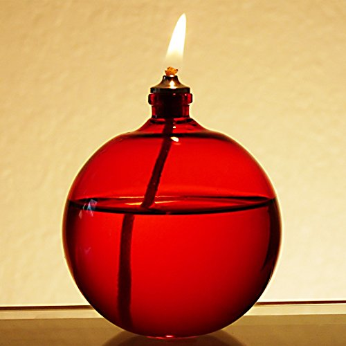 Diamond Oil Candle (Firefly Christmas Red Bliss Petite Candle)