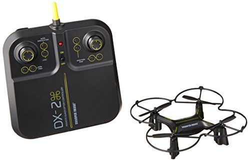 Sharper Image Airplanes Stunt Hobby Drone  Black