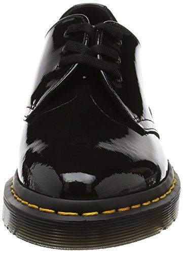 Femme Dupree Noir Derby Lamper Patent Martens Dr Black F4vq6wtx5