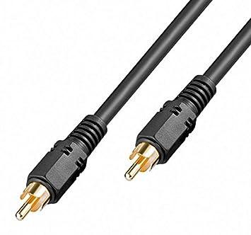 2,0 m erenline® Cable de vídeo digital High Quality [Composite Video Cable