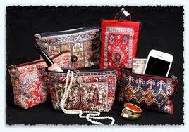 Oriental Carpet Bookmarks #3 - Authentic Woven Carpet (Set of 4) Photo #2