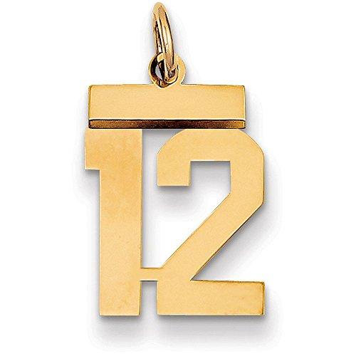number 12 pendant - 8