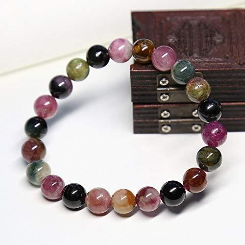 MGZDH Natural Tourmaline Bracelet Tourmaline Bracelet Crystal Jewelry Fine Jewelry Festive Gifts