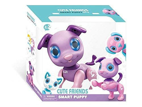 Liberty Imports My Best Friend Interactive Smart Puppy | Kids Electronic Pet Toy Robot Dog | Ideal Gift Idea for Girls (Purple) by Liberty Imports (Image #7)