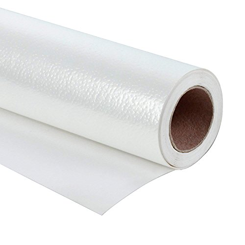 WRAPAHOLIC Gift Wrapping Paper Roll - Elegant White for Birthday, Holiday, Wedding, Wrap - 30 inch x 16.5 feet