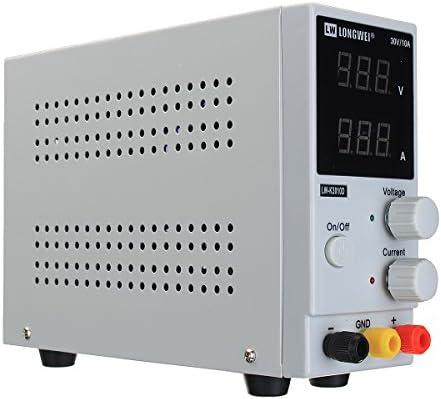 Queenwind ロングウェイR LW-K3010D 110V/220V 0-10A 0-30V 調節可能 DC 電源調整デジタルスイッチング電源