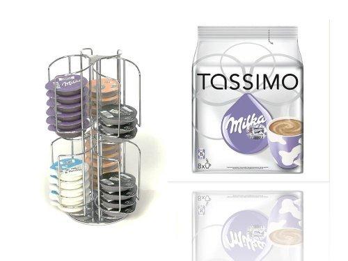 TASSIMO T-Disc Milka NEU Schokolade 8 Getränke + dem drehbaren ...