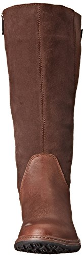Timberland de las mujeres Ashdale all-fit Tall impermeable para Dark Brown Rugged