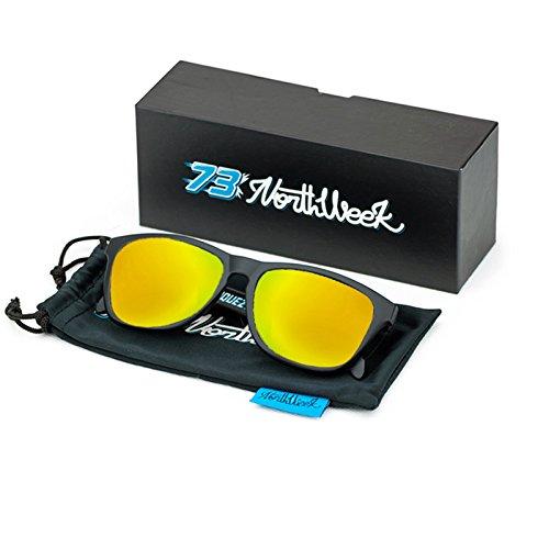 Gafas de sol Sunglasses Northweek Alex Marquez Edition | Unisex | Lente amarilla polarizada: Amazon.es: Ropa y accesorios