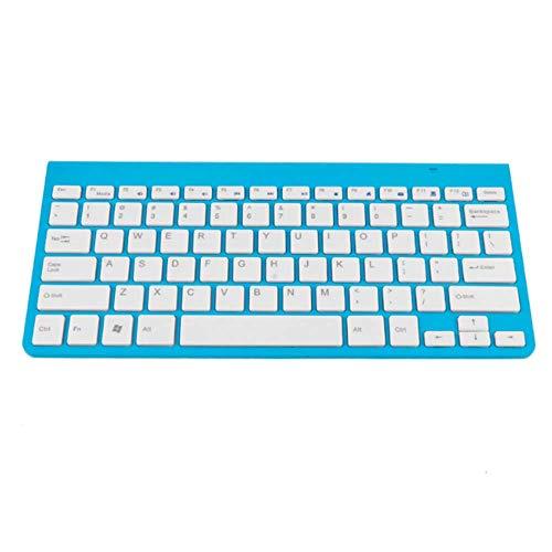 HOUER Computer Gaming 2.4Ghz Wireless Keyboard PC Ergonomic Wireless Keyboard for Computer Laptop Tablet Keyboards 78 Keys