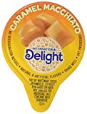 International Delight Caramel Macchiato Liquid Creamer, 192 Count Box Shelf Stable Single-Serve Non-Dairy Flavored Coffee Creamer, Great for Home Use, Offices, Parties or Group Events