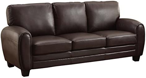 "Homelegance Rubin 85"" Bonded Leather Sofa"