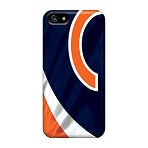 Protector Hard Phone Case For Iphone 5/5s (KvK8789sItv) Unique Design Attractive Chicago Bears Pattern