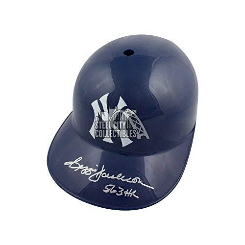 Reggie Jackson 563 Hr Autographed Signed Yankees F/S Souvenir Replica Batting Helmet JSA - Authentic Memorabilia