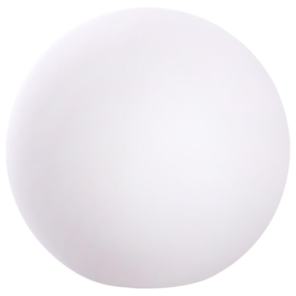 hydroflora Nicoli 63003400 Eos, Decorative Sphere Diameter 30 CM, height: 26 CM White matt