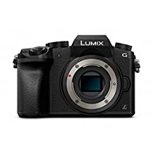 Panasonic Lumix DMC-G7 Mirrorless Micro Four Thirds Digital Camera (Black Body Only) - International Version (No Warranty)
