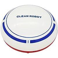 BestDealGift Auto Dust Cleaner Robot, Robotic Clean Helper Sweep Robot-White