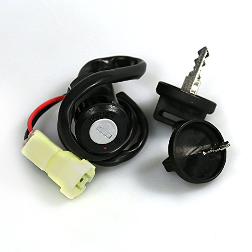 Replacement Ignition Barrel with Key for Honda Models:
