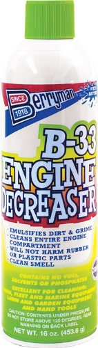 Berryman (1133-12PK) B-33 Engine Degreaser - 16 oz, (Pack of 12)