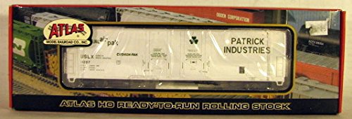 Patrick Industries HO Scale Double Plug Door Box (Double Plug Door Boxcar)