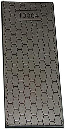 研ぎ石、片面プレートダイヤモンドコーティング砥石研ぎ用砥石研ぎ用はさみチゼルガーデンツール(1000grit)